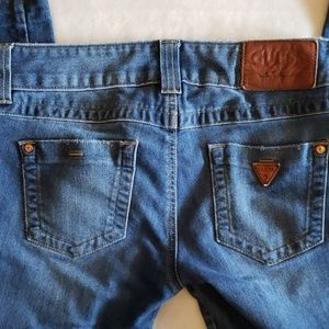 Guess Los Angeles Daredevil Bootcut Jean's Size 25